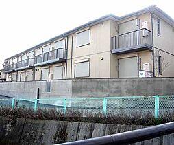京都府京都市右京区鳴滝川西町の賃貸アパートの外観
