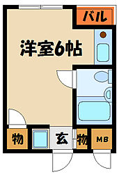 メゾン奥田[3階]の間取り
