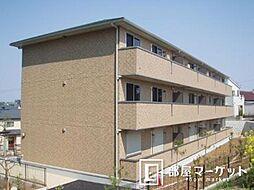 愛知県豊田市新町1丁目の賃貸アパートの外観