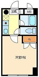 スタインビルドI[4階]の間取り