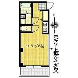 K−1ビル[5階]の間取り