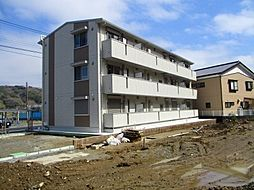 千葉県木更津市下烏田の賃貸アパートの外観