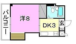 田窪ビル[507 号室号室]の間取り