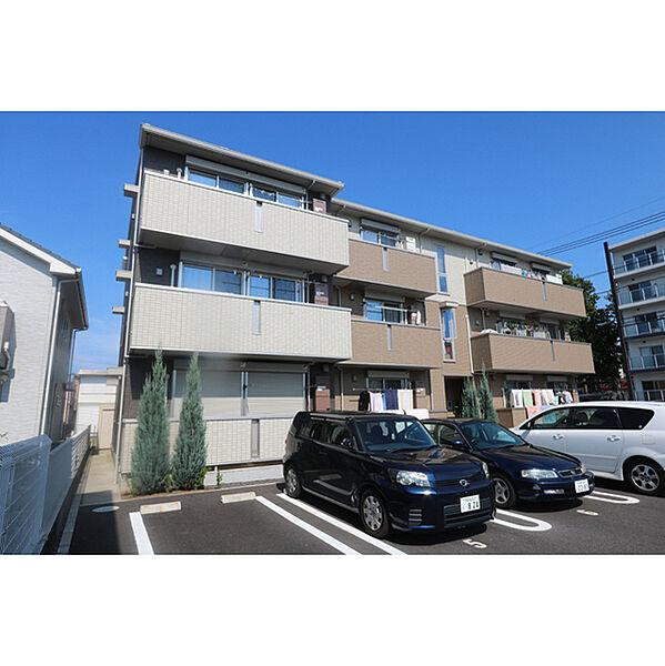 茨城県つくば市二の宮3丁目の賃貸アパート