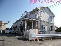 三重県伊勢市下野町の賃貸アパートの外観