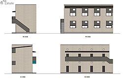 一番2丁目III(仮称)[1階]の外観