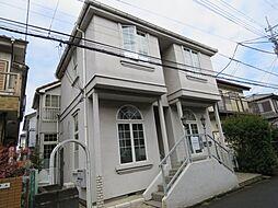 埼玉県川越市霞ケ関北2丁目の賃貸アパートの外観