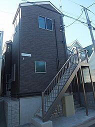 神奈川県横浜市金沢区町屋町の賃貸アパートの外観