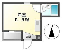 ALEGRIA PLACE徳川町[3階]の間取り