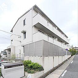 愛知県名古屋市緑区青山2丁目の賃貸アパートの外観