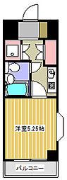 クリオ淵野辺壱番館[805号室]の間取り