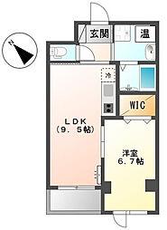Grand Next川崎[1階]の間取り