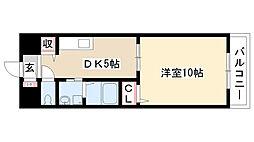 愛知県名古屋市南区鯛取通1丁目の賃貸マンションの間取り