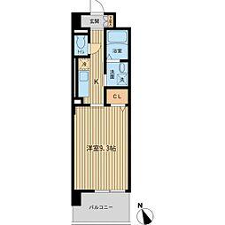 カーサグランデ[6階]の間取り