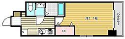 ラグゼ茨木II[301号室]の間取り