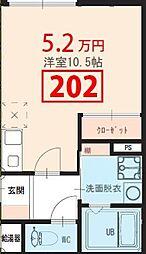 kobushi[2階]の間取り