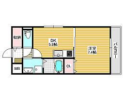 和ハウス2[3階]の間取り