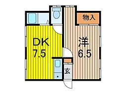 さくらハウス[2階]の間取り