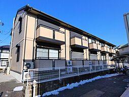 千葉県習志野市藤崎7丁目の賃貸アパートの外観