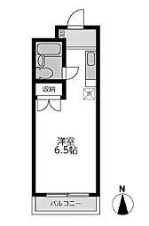 KNビル[3階]の間取り