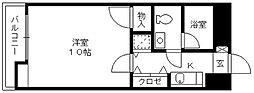 ローズガーデン[8階]の間取り