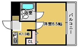 ラーニングホゥプ羽衣[2階]の間取り