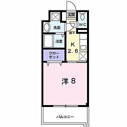 レジデンス22[5階]の間取り