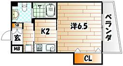 古船場タカヤコーポレーションビル[7階]の間取り