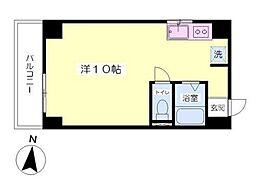 アーバンハイツ増居[4階]の間取り