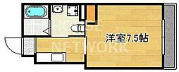 マルティ円町(ドーリアKYOTO円町)[2-E号室号室]の間取り