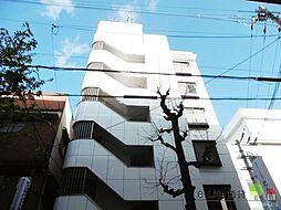 大阪府大阪市東住吉区田辺6丁目の賃貸マンションの外観