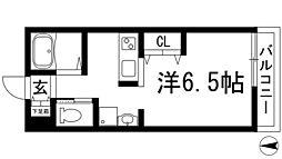 フェリーチェヒル[1階]の間取り