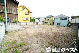 世田谷区祖師谷6丁目の土地です。敷地面積100坪超ととても広々。