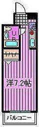 ローブル与野本町[115号室]の間取り