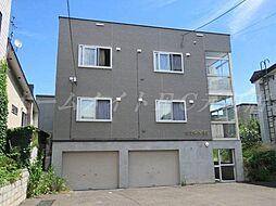 北海道札幌市東区北二十条東2丁目の賃貸アパートの外観