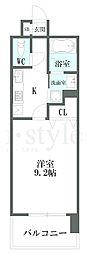 CHIKUSA AVANT−GARDE PLACE(千種アヴ[8階]の間取り