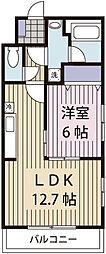 Grand Colline II[3階]の間取り