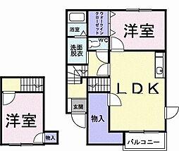 昭和ビューティフルA[0202号室]の間取り