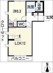 KapellIII[2階]の間取り