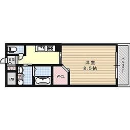 シンプルアドバンテージ[3階]の間取り