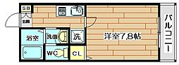 アサコート[1階]の間取り
