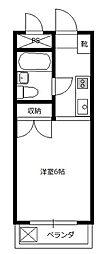 ピュア・ハウス[2階]の間取り
