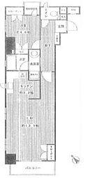 サージュ赤坂[3階]の間取り