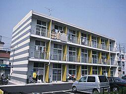 埼玉県草加市八幡町の賃貸マンションの外観