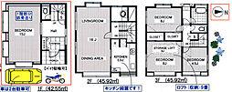 [一戸建] 東京都港区高輪2丁目 の賃貸【/】の間取り