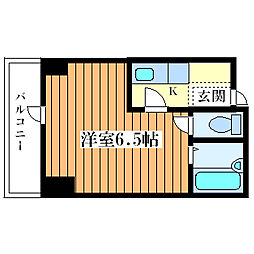 プレアール姫島[3階]の間取り
