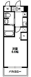 EC(エステムコート)新大阪IXグランブライト[5階]の間取り