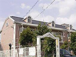 京都府京都市北区上賀茂蝉ケ垣内町の賃貸アパートの外観
