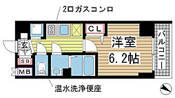 兵庫県神戸市兵庫区羽坂通2丁目の賃貸マンションの間取り