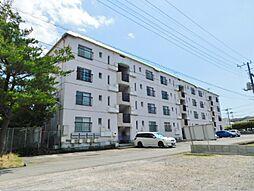 静岡県三島市松本の賃貸マンションの外観